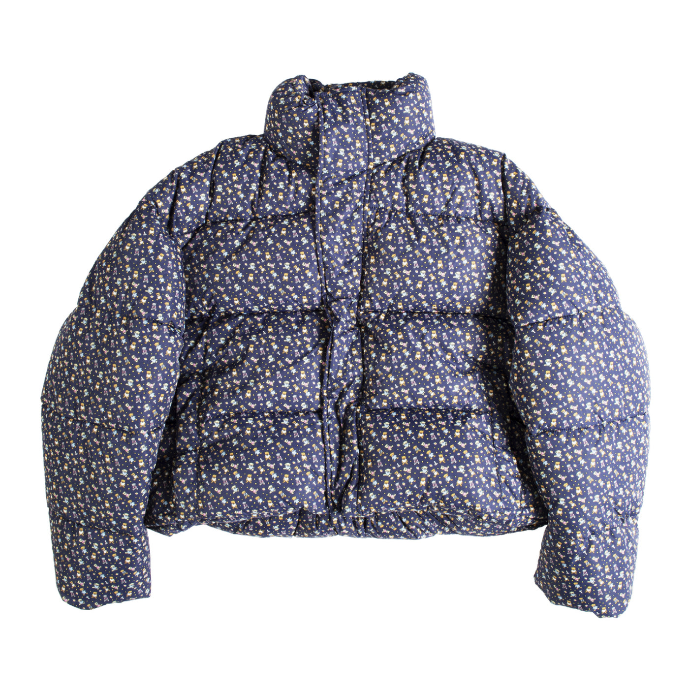 Load image into Gallery viewer, BALENCIAGA PUFFER JACKET NAVY