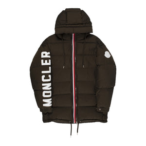 MONCLER HOODED JACKET BLACK