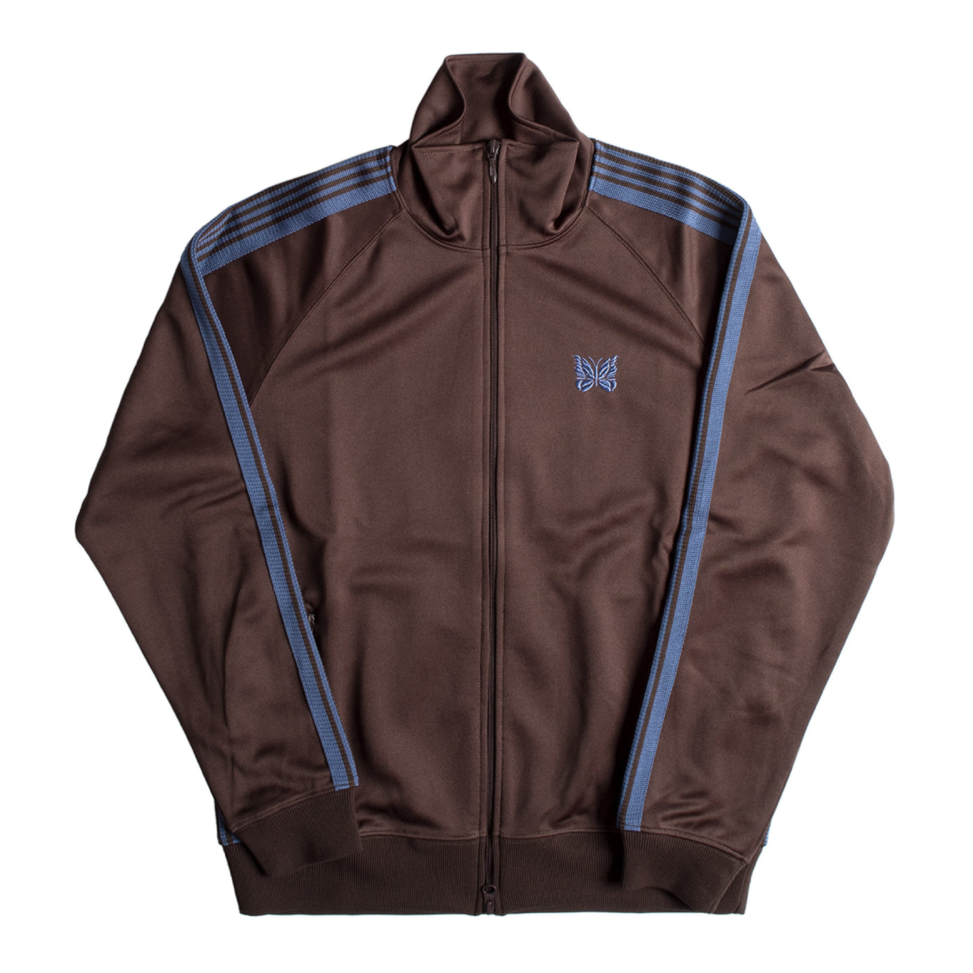 Load image into Gallery viewer, NEEDLES TRACK JACKET BROWN