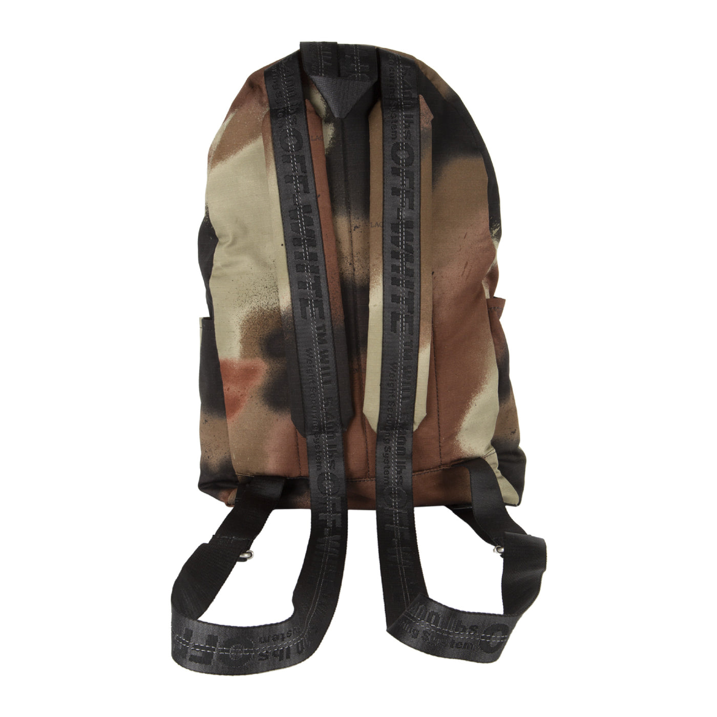 Load image into Gallery viewer, OFF-WHITE STENCIL CAMO BACKPACK GREEN