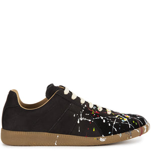 "MAISON MARGIELA ""TABI"" SNEAKERS BLACK"