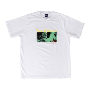 NOON GOONS GRAPHIC-PRINT T-SHIRT WHITE