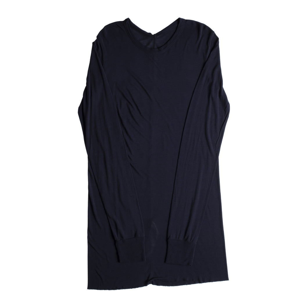 RICK OWENS BASIC TEE BLUE