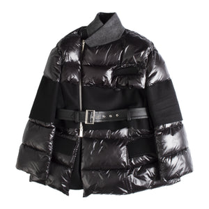 SACAI PADDED JACKET BLACK