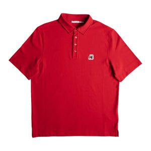 "MONCLER ""MAGLIA"" POLO RED"