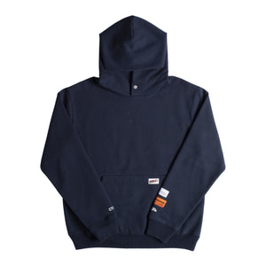 HERON PRESTON CLASSIC UNIFORM HOODIE BLUE
