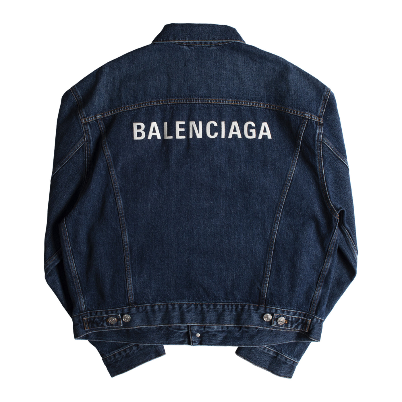 Load image into Gallery viewer, BALENCIAGA LARGE FIT DENIM JACKET BLUE