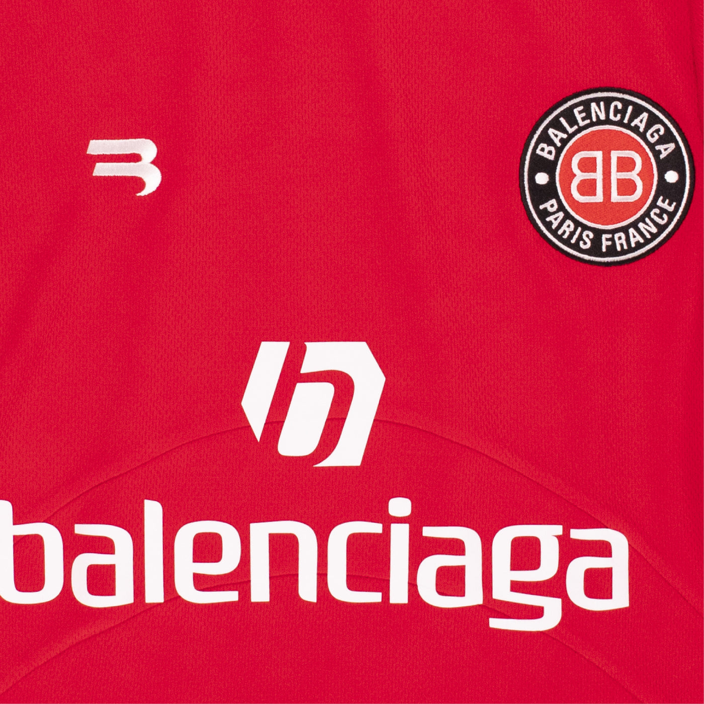 Load image into Gallery viewer, BALENCIAGA SOCCER T-SHIRT RED