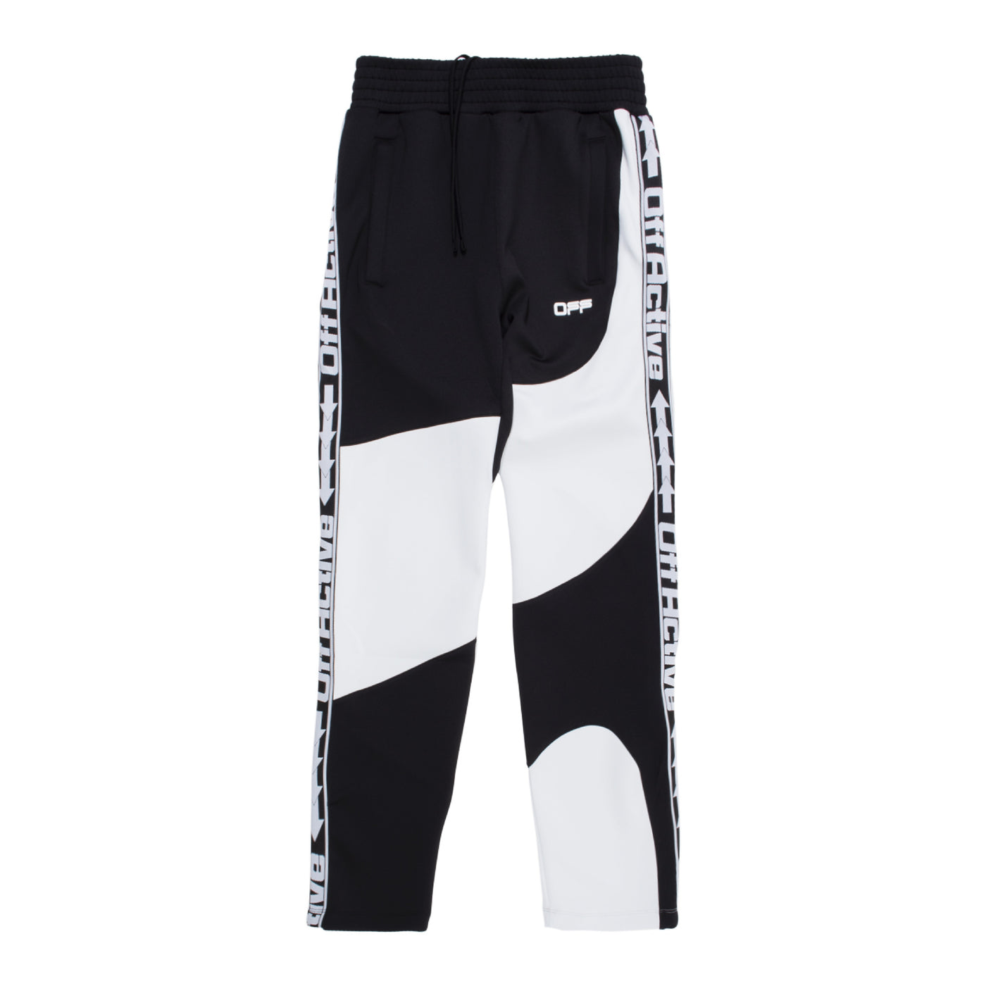 Load image into Gallery viewer, OFF-WHITE ACTIVE TRACK PANT BLACK