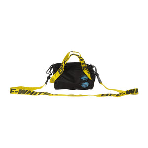 OFF-WHITE NYLON BABY DUFFLE BAG BLACK
