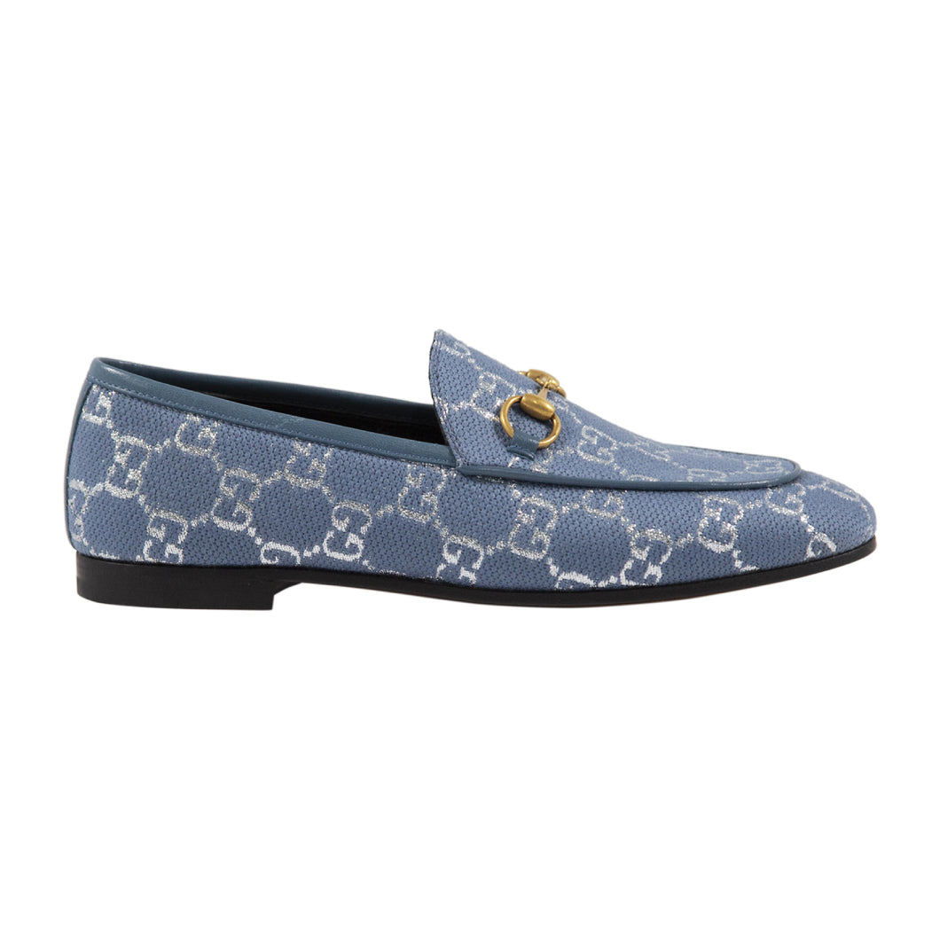GUCCI LAM� LOAFER BLUE