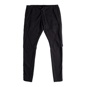 GREG LAUREN LAYERED SWEATPANTS BLACK