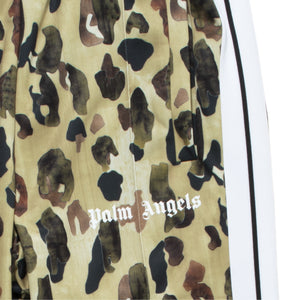 PALM ANGELS CAMO CLASSIC TRACK PANTS GREEN
