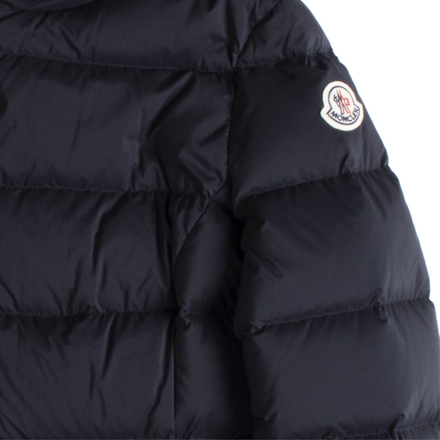 Load image into Gallery viewer, MONCLER PUFFER COAT NAVY