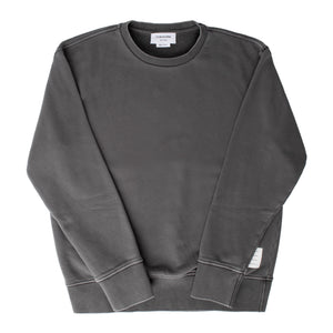 THOM BROWNE SWEATSHIRT GREY