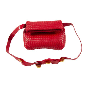 BOTTEGA VENETA SHOULDER BAG RED