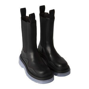 BOTTEGA VENETA BV TIRE BOOTS BLACK