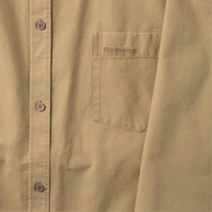 BALENCIAGA COTTON SHIRT NEUTRAL
