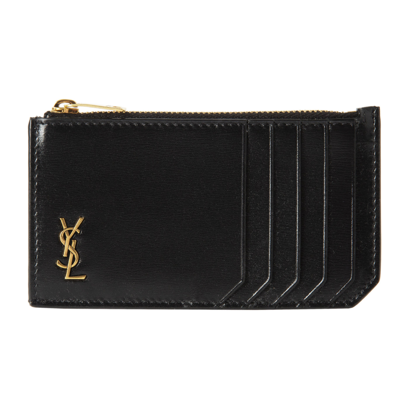 Load image into Gallery viewer, SAINT LAURENT CARDCASE BLACK