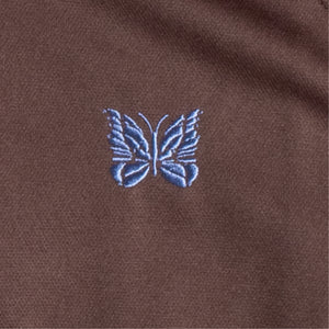 NEEDLES TRACK JACKET BROWN