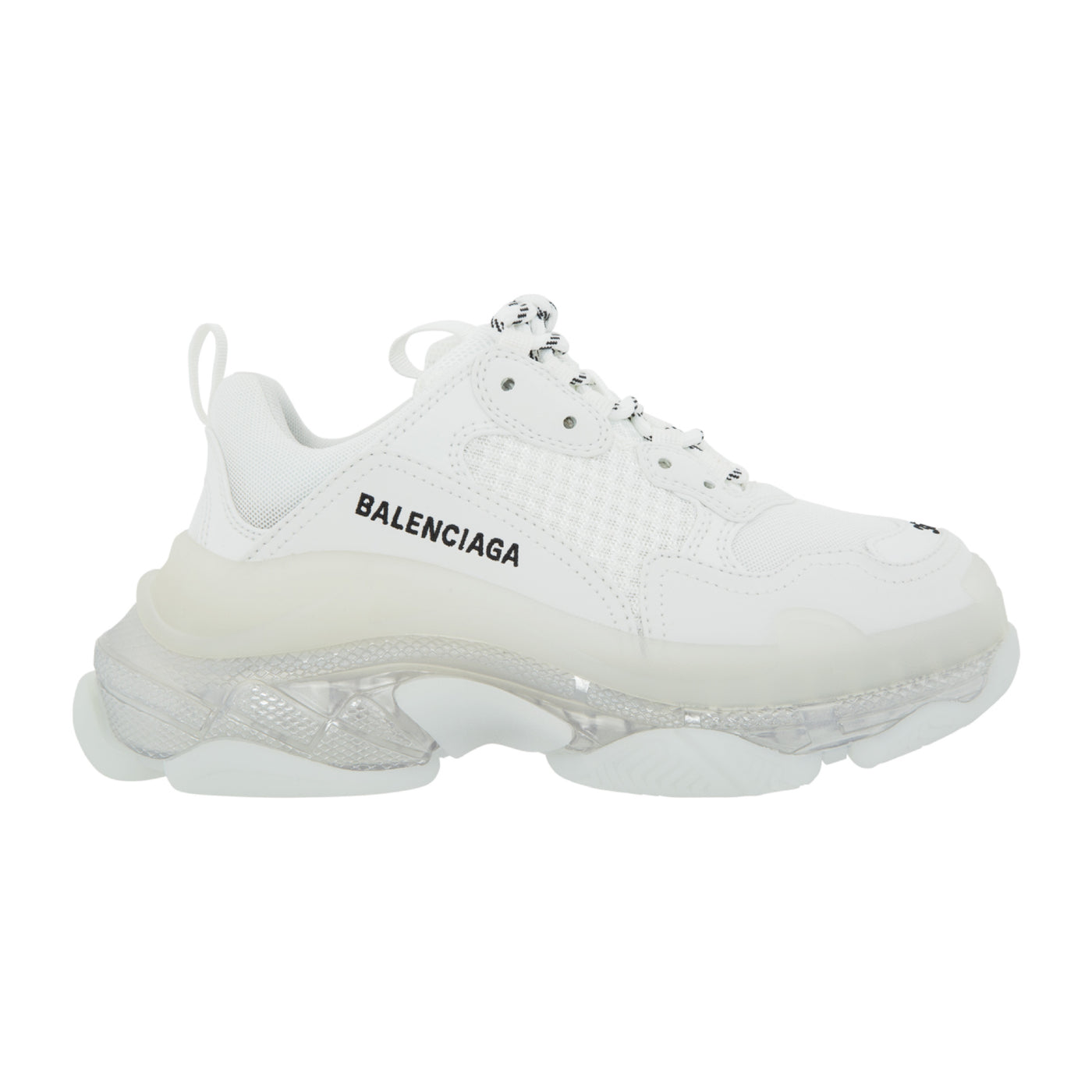 Load image into Gallery viewer, BALENCIAGA TRIPLE S CLEAR SOLE WHITE