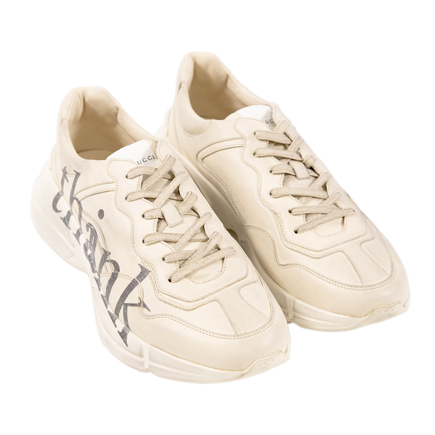 Load image into Gallery viewer, GUCCI LOW-TOP SNEAKERS WHITE
