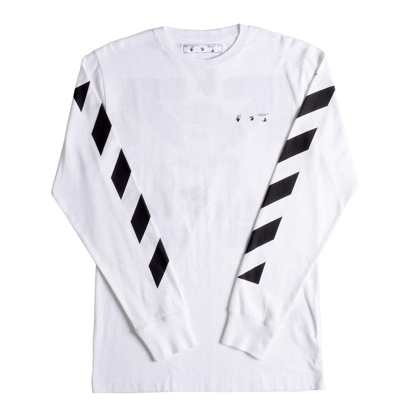 Load image into Gallery viewer, OFF-WHITE DIAGONAL PENCIL ARCH TEE WHITE