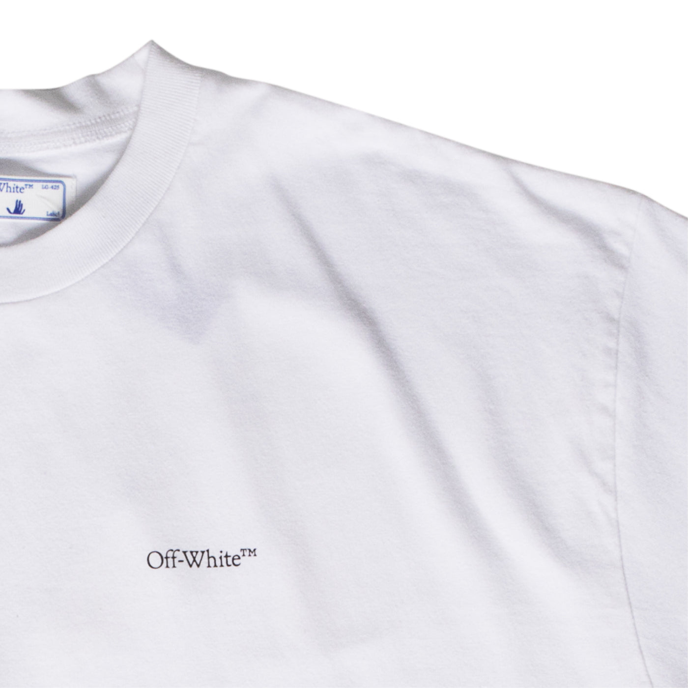 Load image into Gallery viewer, OFF-WHITE CARAVAGGIO ANGEL OVER TEE WHITE