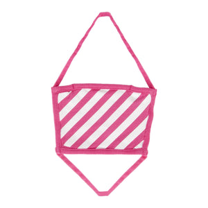 OFF-WHITE DIAGONALS MASK PINK