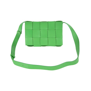 BOTTEGA VENETA CASSETTE BAG GREEN