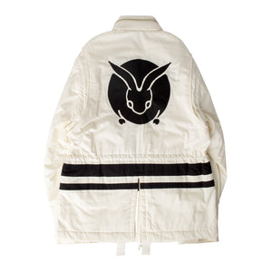UNDERCOVER ZIP JACKET WHITE