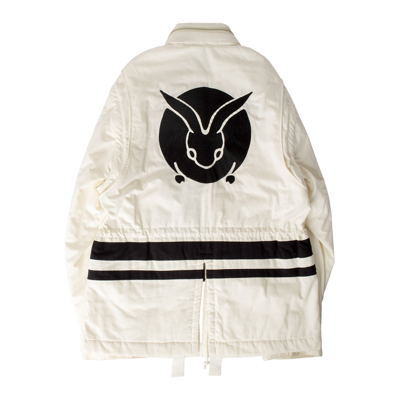 Load image into Gallery viewer, UNDERCOVER ZIP JACKET WHITE