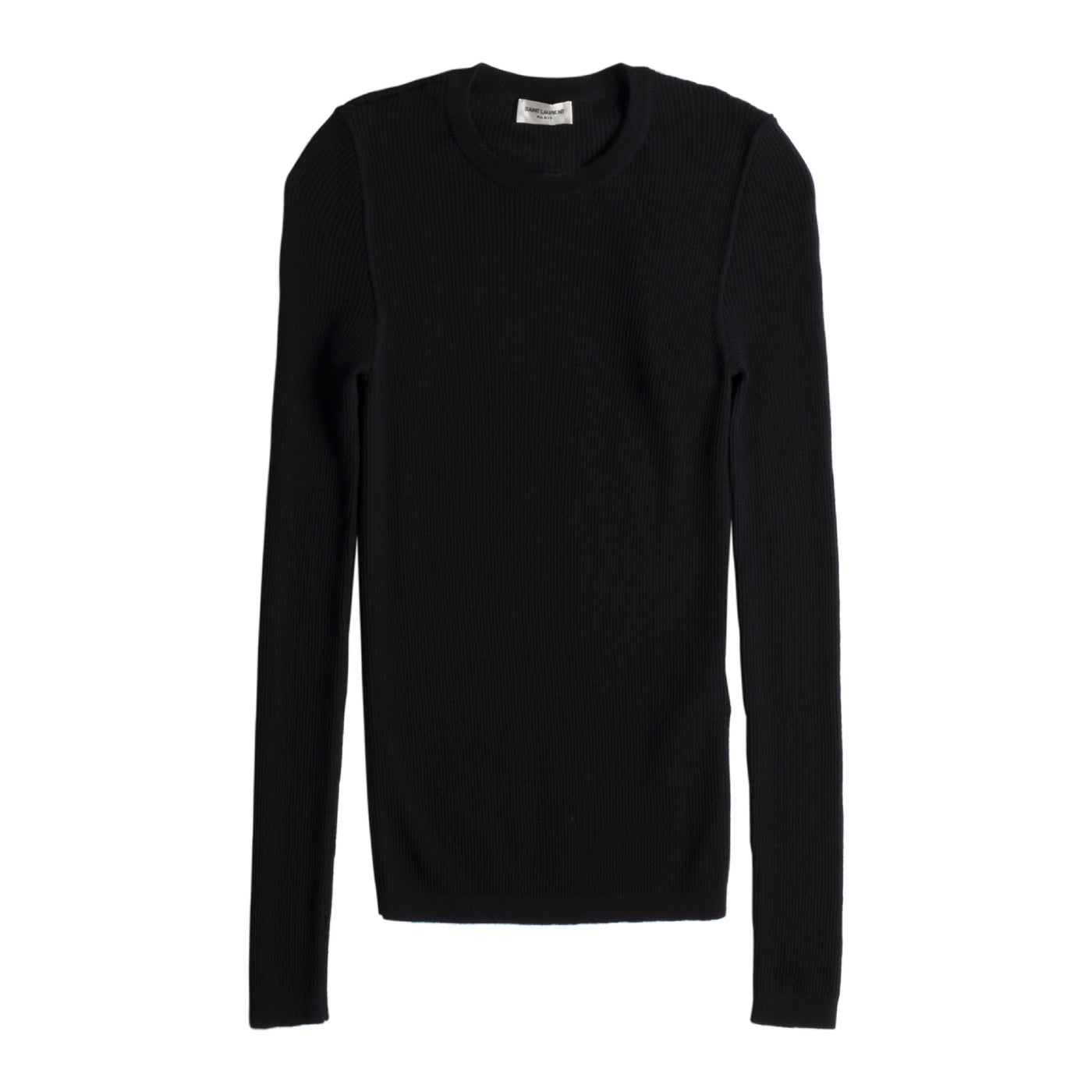 Load image into Gallery viewer, SAINT LAURENT CASHMERE SHIRT BLACK
