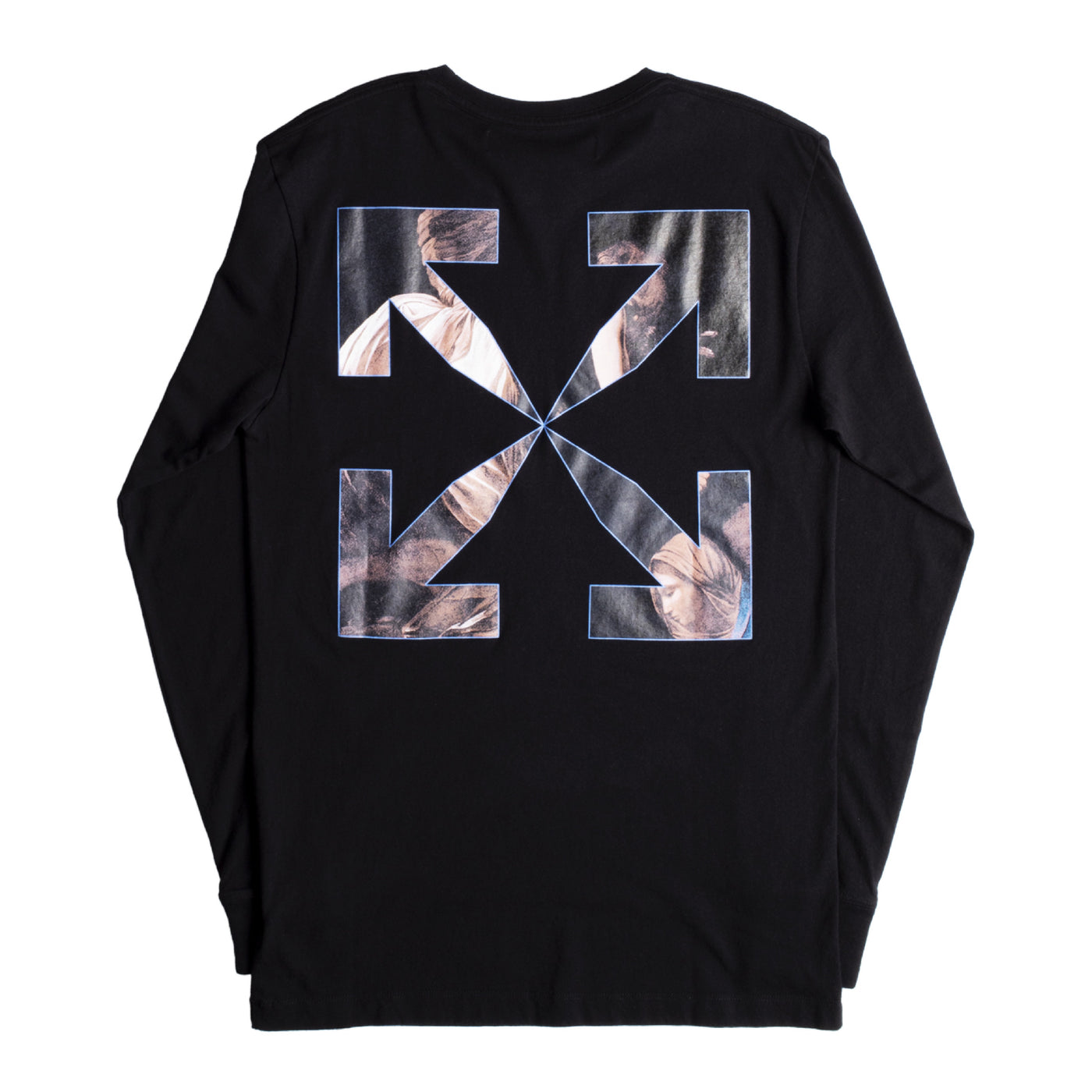 Load image into Gallery viewer, OFF-WHITE CARAVAGGIO ANGEL TEE BLACK