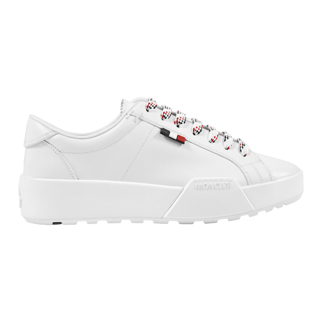 MONCLER LOW-TOP SNEAKER WHITE