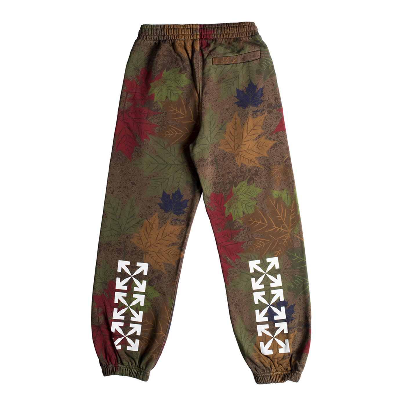 Load image into Gallery viewer, OFF-WHITE CAMO ARROW SHORTEN SWEATPANT GREEN