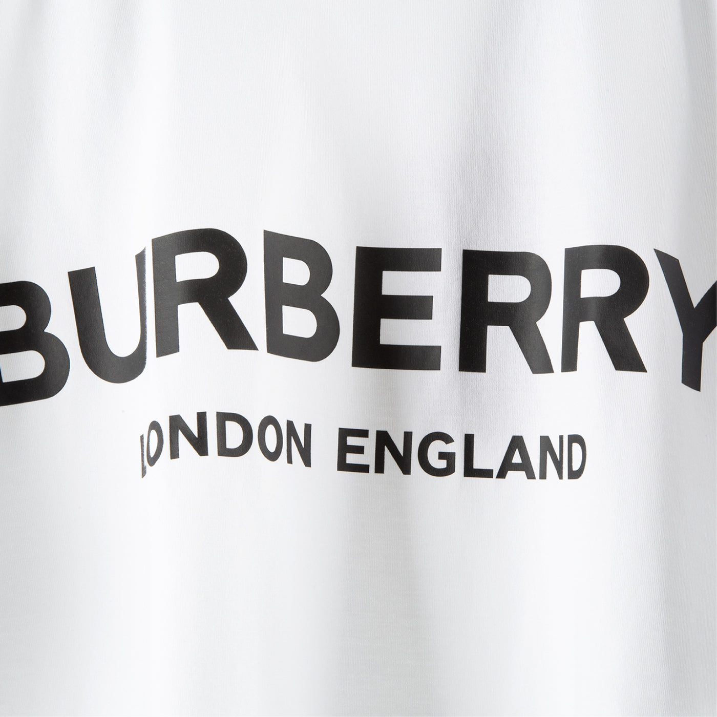Load image into Gallery viewer, BURBERRY LOGO-PRINT T-SHIRT WHITE