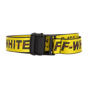 OFF-WHITE CLASSIC INDUSTRIAL BELT YELLOW