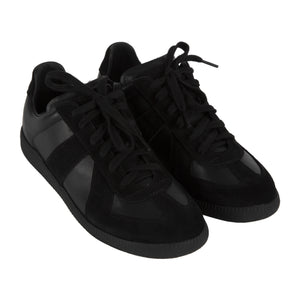 "MAISON MARGIELA ""WHITE ICONS"" SNEAKERS BLACK"