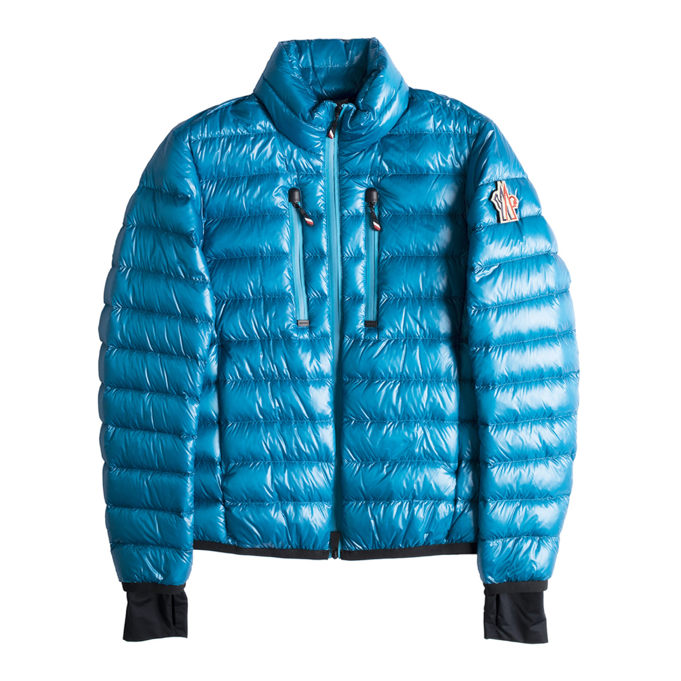"Load image into Gallery viewer, MONCLER ""HERS"" JACKET BLUE"
