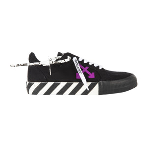 OFF-WHITE LOW VULCANIZED SNEAKER BLACK