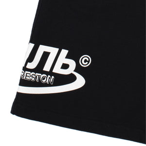 HERON PRESTON SWEATSHORTS OS CTNMB HALO BLACK