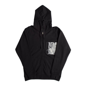 1017 ALYX 9SM ZIP-UP HOODIE SWEATSHIRT BLACK