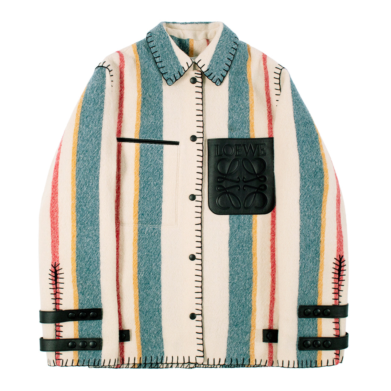 Load image into Gallery viewer, LOEWE STRIPED JACKET MULTI