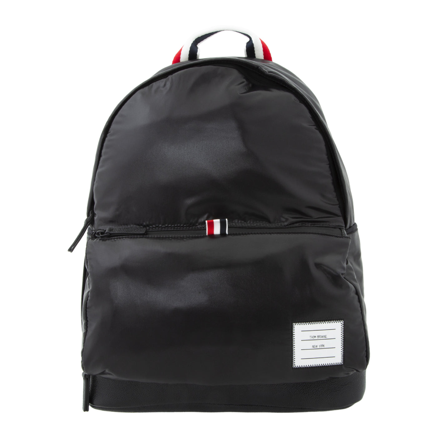 Load image into Gallery viewer, THOM BROWNE EASY NYLON BACKPACK BLACK