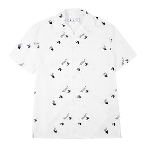 OFF-WHITE ALLOVER HOLIDAY SHIRT WHITE