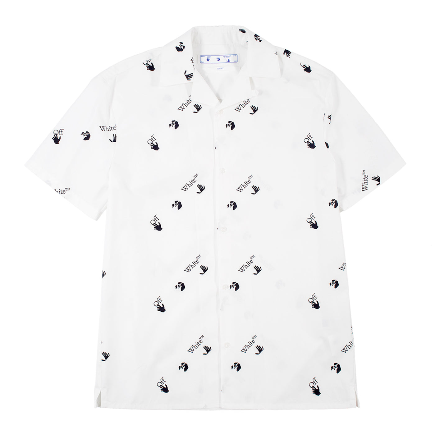 Load image into Gallery viewer, OFF-WHITE ALLOVER HOLIDAY SHIRT WHITE