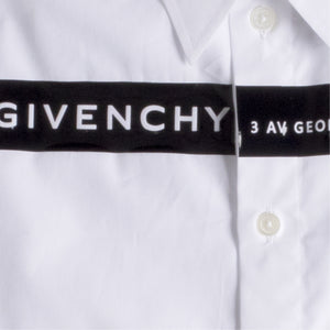 GIVENCHY CONTEMPORARY SHIRT WHITE