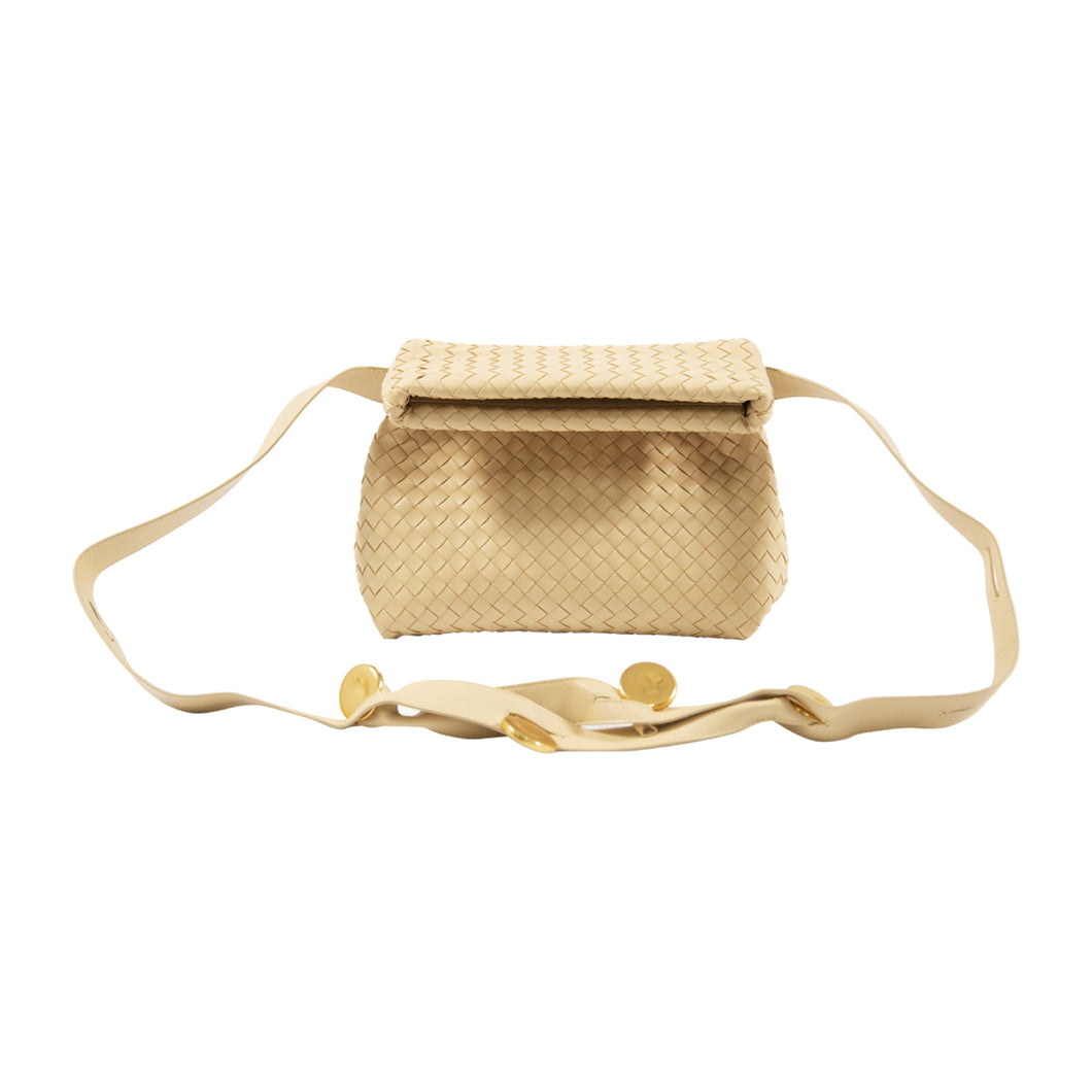 BOTTEGA VENETA SHOULDER BAG GOLD