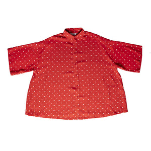 BALENCIAGA VAREUSE SHIRT RED